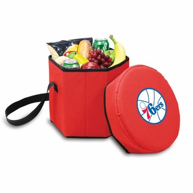 Philadelphia 76ers Bongo Cooler / Seat (Red)