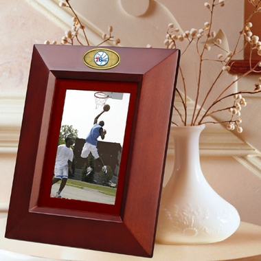 Philadelphia 76ers BROWN Portrait Picture Frame