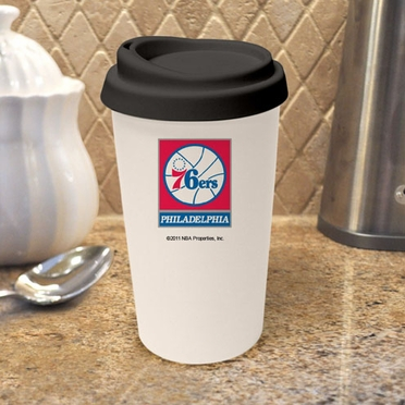 Philadelphia 76ers Ceramic Travel Cup