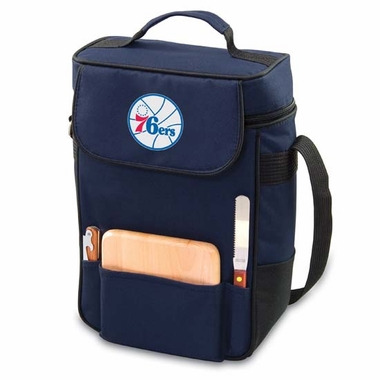 Philadelphia 76ers Duet Compact Picnic Tote (Navy)