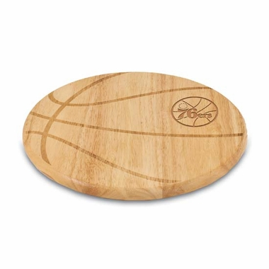 Philadelphia 76ers Free Throw Cutting Board