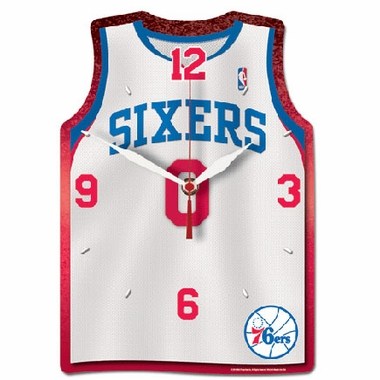 Philadelphia 76ers High Definition Wall Clock