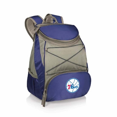 Philadelphia 76ers PTX Backpack Cooler (Navy)