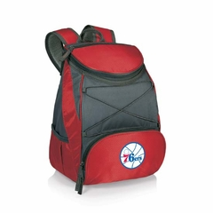 Philadelphia 76ers PTX Backpack Cooler (Red)