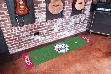 Philadelphia 76ers Putting Green Mat