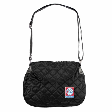 Philadelphia 76ers Quilted Saddlebag