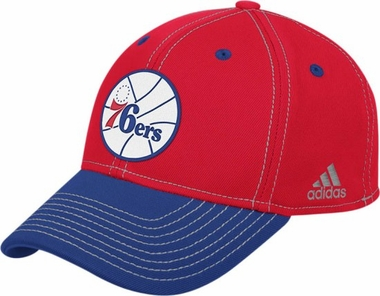 Philadelphia 76ers Structured Flex Fit Hat