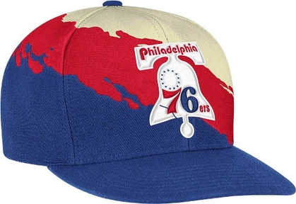 Philadelphia 76ers Vintage Paintbrush Snap Back Hat