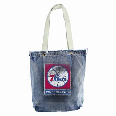 Philadelphia 76ers Vintage Shopper (Denim)