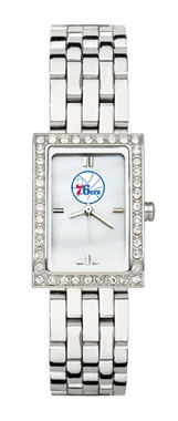 Philadelphia 76ers Women's Steel Band Allure Watch
