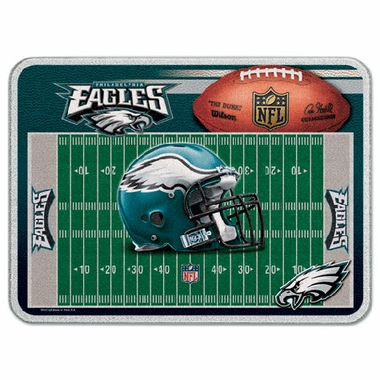 Philadelphia Eagles 11 x 15 Glass Cutting Board