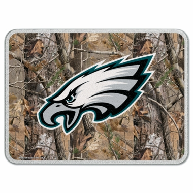 Philadelphia Eagles 11 x 15 Glass Cutting Board (Realtree)