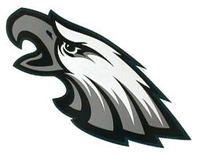 Philadelphia Eagles 12 Inch Individual Car Magnet