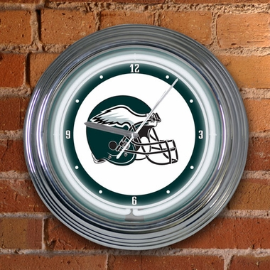 Philadelphia Eagles 15 Inch Neon Clock
