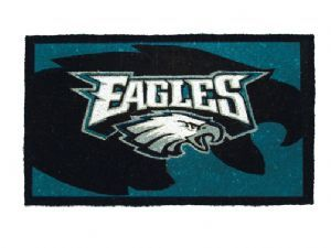 Philadelphia Eagles 18x30 Bleached Welcome Mat