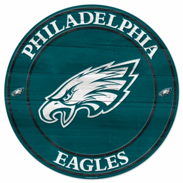 Philadelphia Eagles 19.75 Inch Wood Sign
