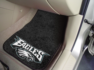 Philadelphia Eagles 2 Piece Car Mats