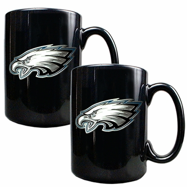 Philadelphia Eagles 2 Piece Coffee Mug Set