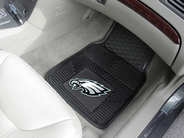Philadelphia Eagles 2 Piece Heavy Duty Vinyl Car Mats