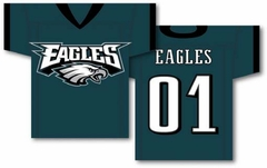 Philadelphia Eagles 2 Sided Jersey Banner Flag (F)
