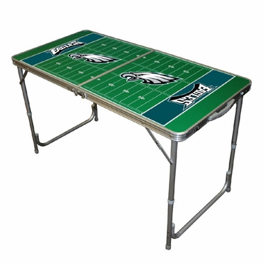 Philadelphia Eagles 2 x 4 Foot Tailgate Table