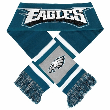 Philadelphia Eagles 2012 Team Stripe Knit Scarf