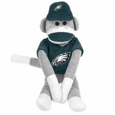 Philadelphia Eagles 2013 27 Uniform Sock Monkey