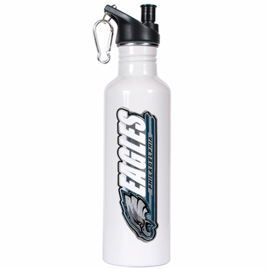 Philadelphia Eagles 26oz Stainless Steel Water Bottle (White)