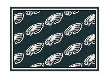 "Philadelphia Eagles 3'10"" x 5'4"" Premium Pattern Rug"