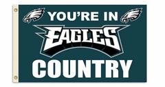 Philadelphia Eagles 3' x 5' Flag (Country) (F)