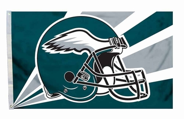 Philadelphia Eagles 3'x5' Helmet Design Flag