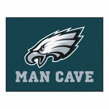 Philadelphia Eagles 34 x 45 Man Cave Rug