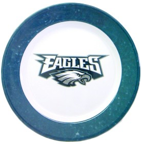Philadelphia Eagles 4 Piece Dinner Plate Set