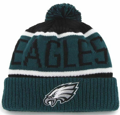 Philadelphia Eagles 47 Brand NFL Calgary Cuffed Knit Hat