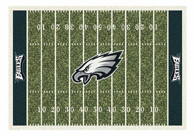 "Philadelphia Eagles 5'4"" x 7'8"" Premium Field Rug"