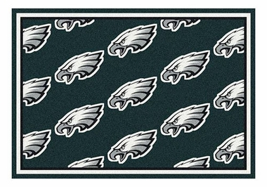 "Philadelphia Eagles 5'4"" x 7'8"" Premium Pattern Rug"