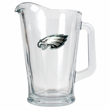 Philadelphia Eagles 60 oz Glass Pitcher