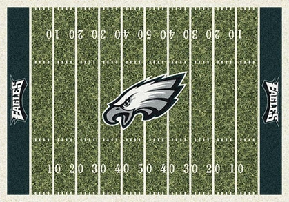 "Philadelphia Eagles 7'8"" x 10'9"" Premium Field Rug"