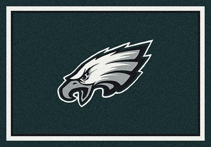 "Philadelphia Eagles 7'8"" x 10'9"" Premium Spirit Rug"