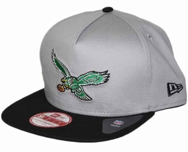 Philadelphia Eagles 9FIFTY Throwback A-Tone Snapback Hat