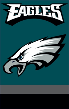 Philadelphia Eagles Applique Banner Flag