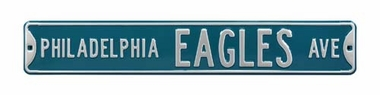 Philadelphia Eagles Ave Street Sign