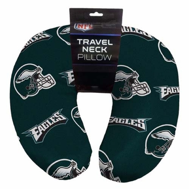 Philadelphia Eagles Beaded Neck Pillow