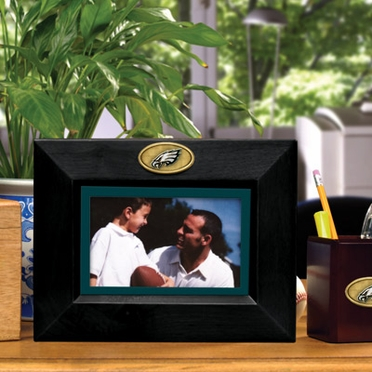 Philadelphia Eagles BLACK Landscape Picture Frame
