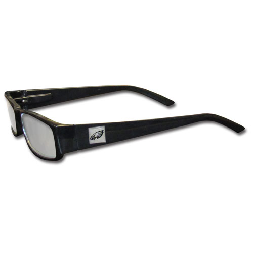 Philadelphia Eagles Black Reading Glasses +1.25 (F)
