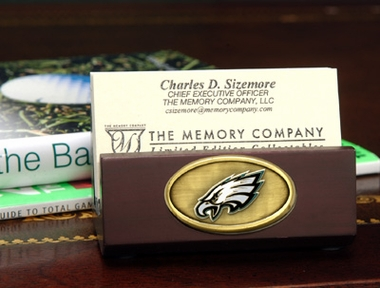 Philadelphia Eagles Business Card Holder