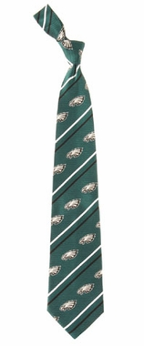 Philadelphia Eagles Cambridge Woven Silk Necktie
