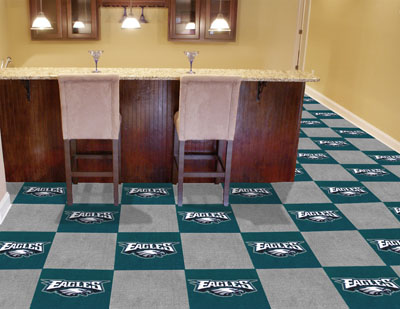 Philadelphia Eagles Carpet Tiles
