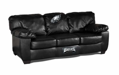 Philadelphia Eagles Leather Classic Sofa