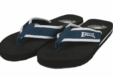 Philadelphia Eagles Contoured Flip Flop Sandals